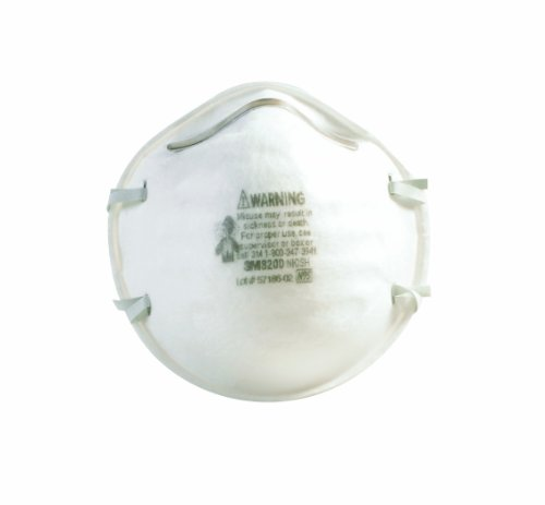 3M OCS8200 White Dust Respirator