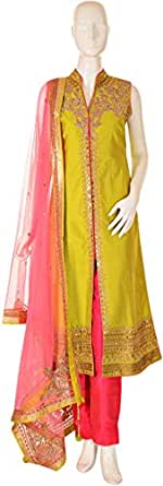 Sanskriti Multi Color Casual Kurta & Churidar Set For Women