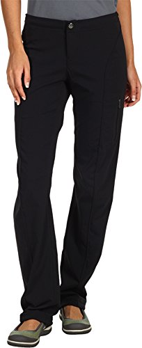 Columbia Women's Just Right Straight Leg Pant, Black, (Right Fit Pants)