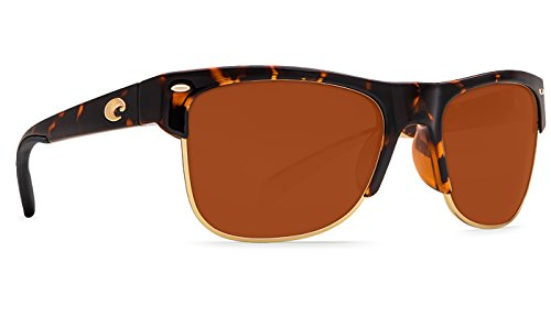Costa Del Mar Pawley's Sunglass, Retro Tortoise/Copper - Sunglasses Costa Pawleys