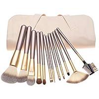 18 Pcs Pro Makeup Brush Set Synthetic Professional Makeup Brushes Foundation Powder Blush Eyeliner Brushes With Make Up Brushes Tool Kit