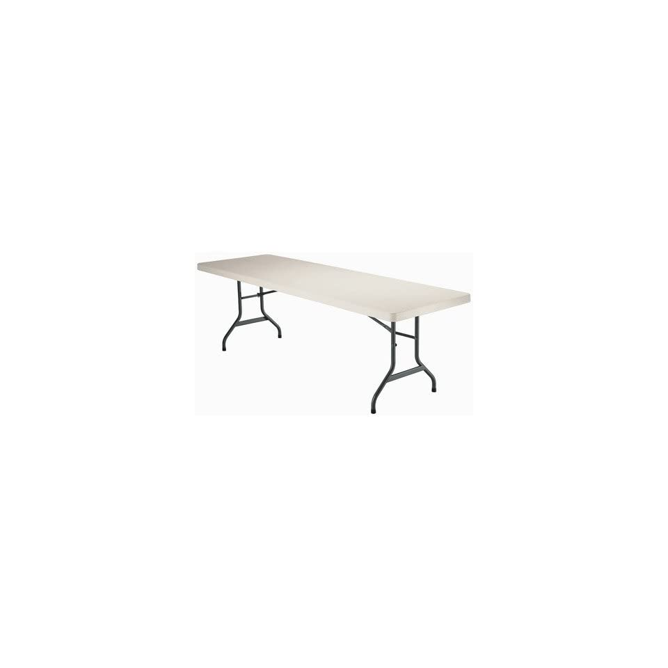 Lifetime 2984 8 Commercial Grade Table in Almond