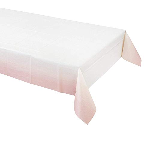 Talking Tables Pack of 2 Pink Paper Table Cloth | Great for Baby Shower, Girls Party, 1st Birthday and Birthday Celebrations]()
