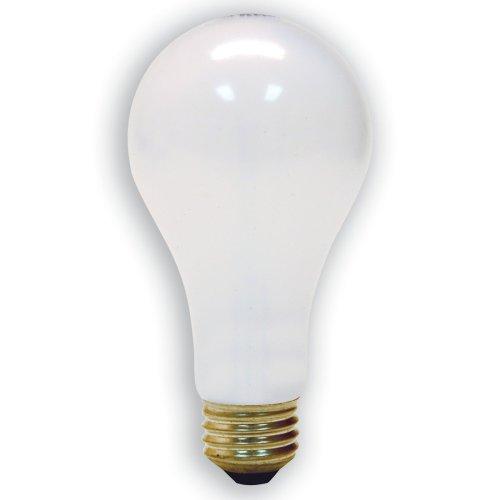 GE Lighting 15846 70-Watt - 170-Watt - 240-Watt A21 3-Way Reader Light, Soft White