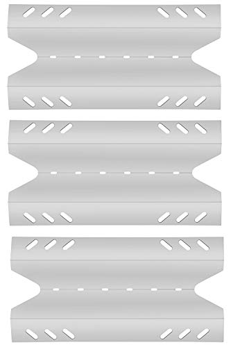 Htanch SN6431(3-Pack) Stainless Steel Heat Plate Replacement for BBQ Pro BQ05041-28, BQ51009, Kenmore, Outdoor Gourmet, SAMS Club Gas Grill Models