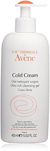 Eau Thermale Avène Cold Cream Ultra-Rich Cleansing Gel, 13.52 fl. oz. (Form Gel Foaming)