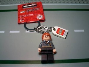 LEGO Harry Potter Ron Weasley Key Chain 852955 (Lego Harry Potter Years 5 7 Map)