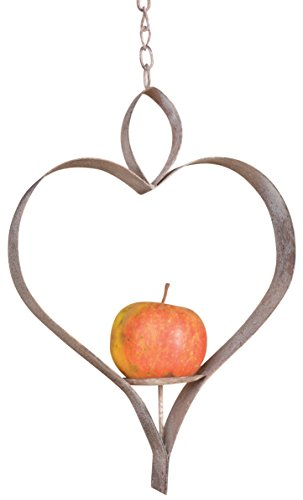 Esschert Design AM45 Heart Apple - Apple Feeder