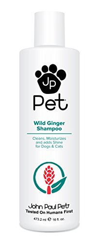 inger Shampoo for Dogs and Cats, Soothes and Cleanses Adding Moisture and Shine, 16-Ounce ()