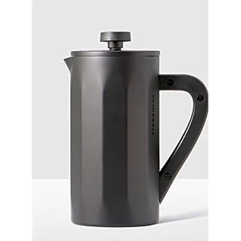 Amazon Com Starbucks Stainless Steel Travel Press Black 10 Oz French Presses Kitchen Amp Dining