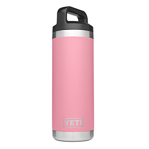 YETI Rambler 18oz Vacuum Insulated Stainless Steel Bottle wi