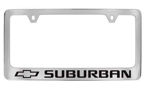 suburban license plate frame - 2
