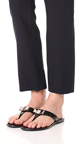 Sandals Salvatore Farelia Women's Nero Thong Ferragamo Ywq7p6