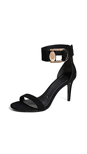 (Stella Luna Women's Double-Ring Sandals, Black, 37 M EU)