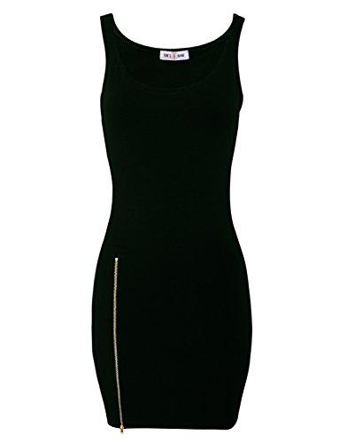 Tom's Ware Women Classic Slim Fit Tank Bodycon