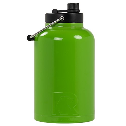 RTIC One Gallon Vacuum Insulated Jug, Lime Green