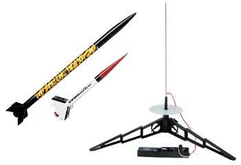 - Estes Tandem-X Flying Model Rocket Launch Set