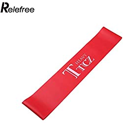 Latex Resistance Yoga Band Elastic Muscle Fitness Training Stretching Strap Women Exercise