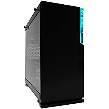 In Win 101C Black USB 3.1 Gen 2 Type-C RGB LED Mid Tower Gaming Computer Case with Tempered Glass Cases Black
