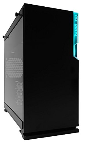 In Win 101C Black USB 3.1 Type-C Gen 2 RGB LED Sync-Ready Micro-ATX Mini-ITX Tower Gaming Computer Case, with Tempered Glass