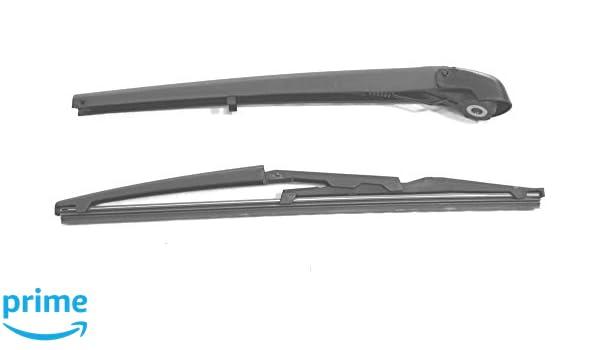 Brazo y escobilla para limpiaparabrisas trasero de ajuste exacto 36 cm RA300: Amazon.es: Coche y moto
