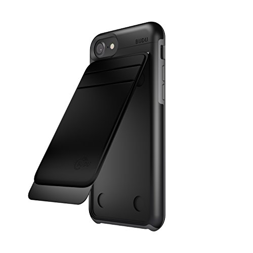BUDU iPhone Case Wallet Attachment for 6, 6s, 7, 8 | Easily Change Accessories with our Modular iPhone Cases and Accessories |