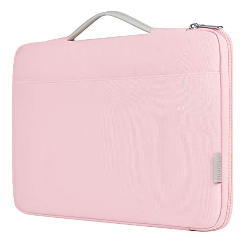 Inateck 13-13.3 Inch Laptop Case Sleeve Bag Compatible 13.3 Inch MacBook Air 2010-2019/MacBook Pro Retina 2012-2015, 2019/2018/2017/2016, Surface Pro X/7/6/5/4/3, Surface Laptop 2017/2/3, Pink