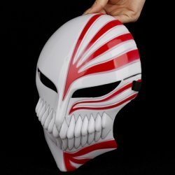 [DIY Homemade : Bleach Hollow Cosplay Props - Halloween Mask - DIY Cosplay Costume (Make Your Halloween Mask Outstanding) for Carnival Party, Halloween, Cosplay, Prom, Night Party - Ship From Asia and Take Time for] (Homemade Scary Clown Halloween Costumes)