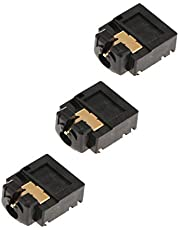 3 x 3.5mm Headset Headphone Jack Plug Port Connector Socket Replacement for Xbox One Slim S Wireless Controller Repair Part