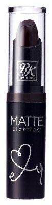 Ruby Kisses Ultra Matte Super Rich Lipstick 3.5g/0.12oz (RMLS13 DARK PLUM (Dark Plum)