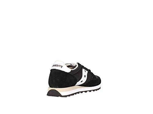 Sneaker Saucony Jazz in suede e nylon grigio Black/White T1upTMGO