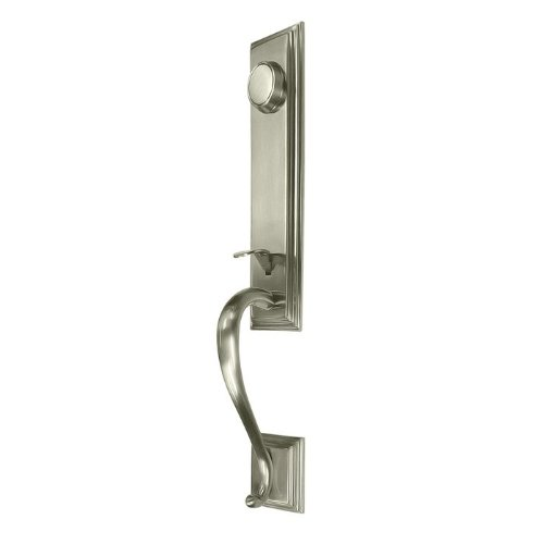 Deltana 825871D-LQ CLOSEOUT - Kingston One-Piece Dummy Handleset from the Home S, (Closeouts One Piece)
