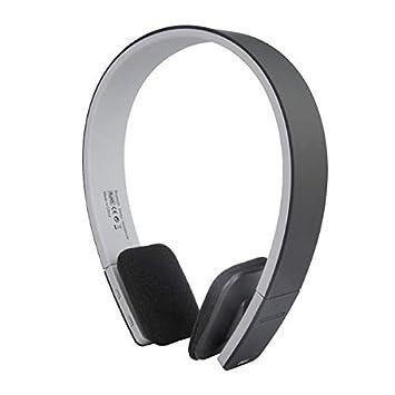 AEC BQ-618 - Auriculares inalámbricos Bluetooth estéreo con micrófono para teléfono móvil Negro: Amazon.es: Electrónica