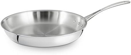 Amazon.com: Calphalon sartén para omelette de acero ...