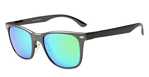 Eyekepper Style Aluminum Polarisees lunettes de soleil Noir-vert