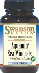 Swanson Aquamin Sea Minerals: Red Mineral Algae 60 Veg Caps