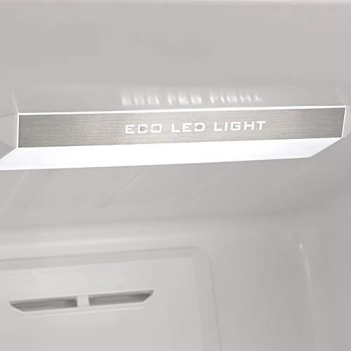 Edesa EFC-1832 NF EX nevera y congelador Independiente Acero ...