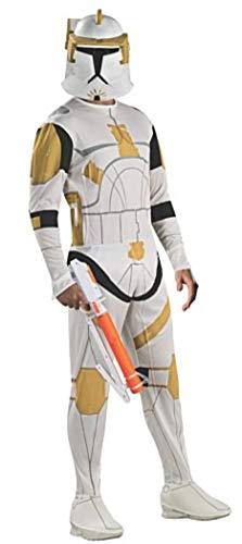 Rubie's Men's Star Wars, Commander Cody Clone Trooper Costume, Multi, Standard]()