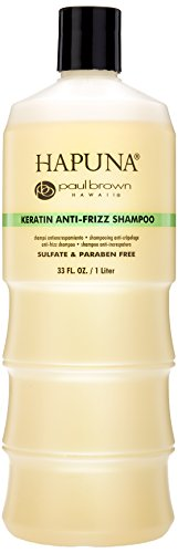 Paul Brown Hawaii Hapuna Anti-Frizz Shampoo Liter, 33 Ounce Paul Brown Hawaii Thermal