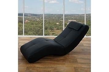 Moderne Relaxliege moderne relaxliege polsterliege recamiere chaiselongue kunstleder