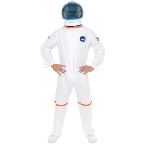 (Charades Men's Astronaut Space Costume Jumpsuit,)