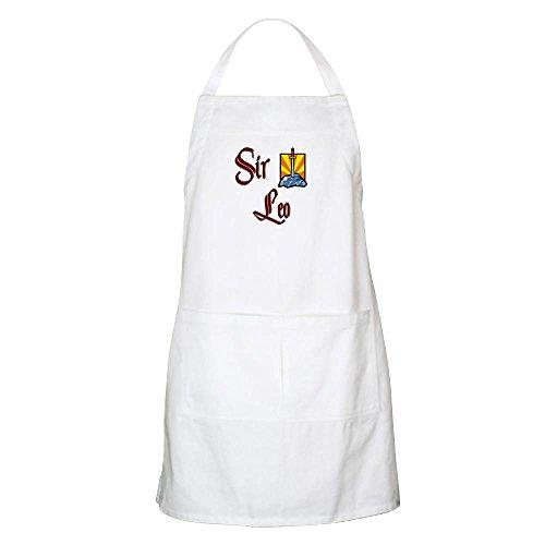 CafePress Sir Leo BBQ Apron Kitchen Apron with Pockets, Grilling Apron, Baking Apron
