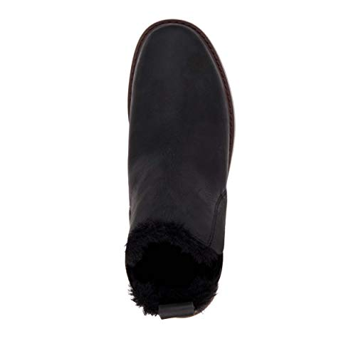 Leather Boots Emu Pioneer Women's Black Wool Lined ZRcxAHxq1