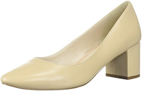 Cole Haan Women's Justine Pump 55MM, Nude Leather, 9 B US