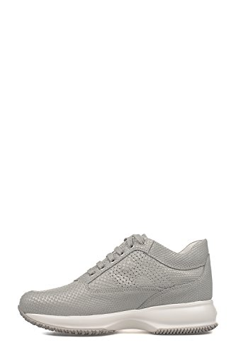 Hogan Sneakers Donna HXW00N00E30FGCU002 Pelle Grigio