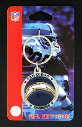 NFL San Diego Chargers Key Chain (Ring Key Chargers San Diego)