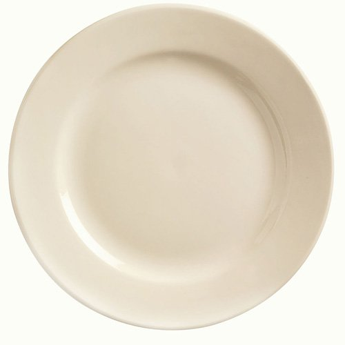 World Tableware PWC-9 Princess White 10'' Plate - 24 / CS