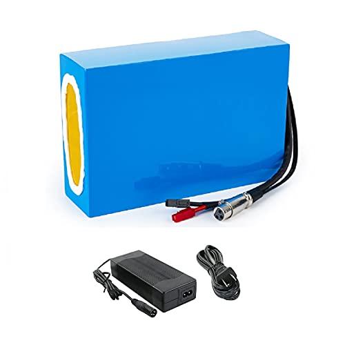 Ebike batterij 36V / 20AH 18650 13S8P Li-ion batterij voor elektrische fietsen 200W-500W Lithium accupack met lader-36V…
