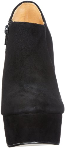 WoMen 1 Buffalo Black Kid Suede 01 112 3052 London Schwarz Boots FqtYwTrF