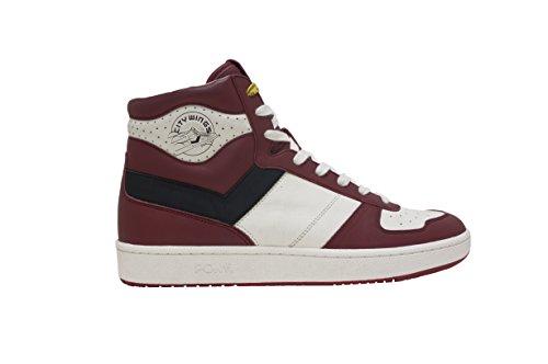 PONY City Wings HI Sneakers red/black